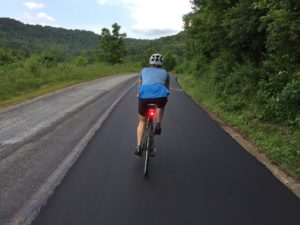 postural patterns in cycling