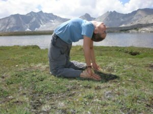 yoga and massage for hiking